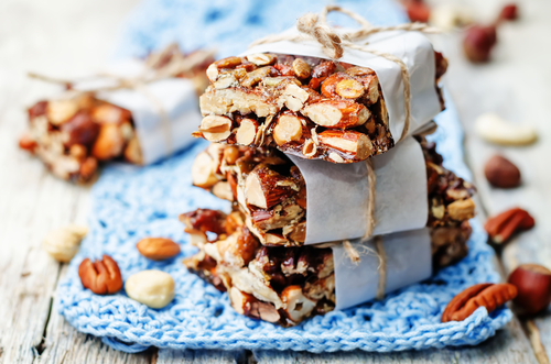 caramelized pecan bars