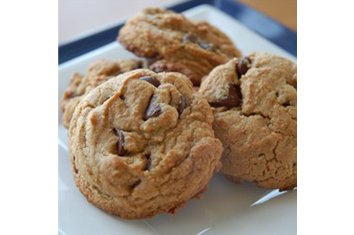 Gluten-free Nut Butter Choco Chip Cookies - Aseda Raw Honey